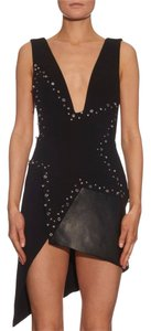 Anthony Vaccarello Stars Deep V Neck Sexy Sold Out New Dress