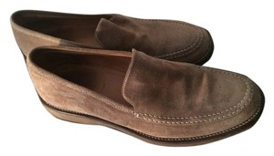 J.Crew mens suede taupe Flats
