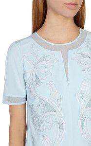 Karen Millen Top Light Blue