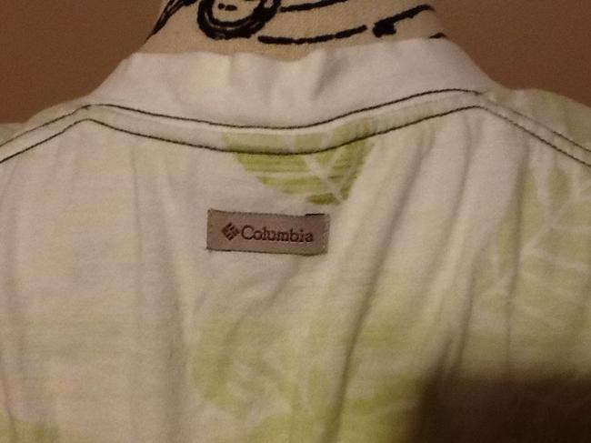 Columbia Sportswear Company Leaves Ombre Floral Soft Comfortable Tunic