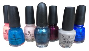 China Glaze and OPI nail polish lot