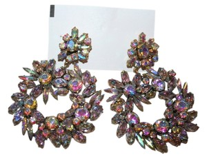 J.Crew J.CREW CRYSTAL WREATH EARRINGS