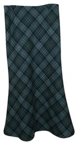 Boden Maxi Skirt wool plaid