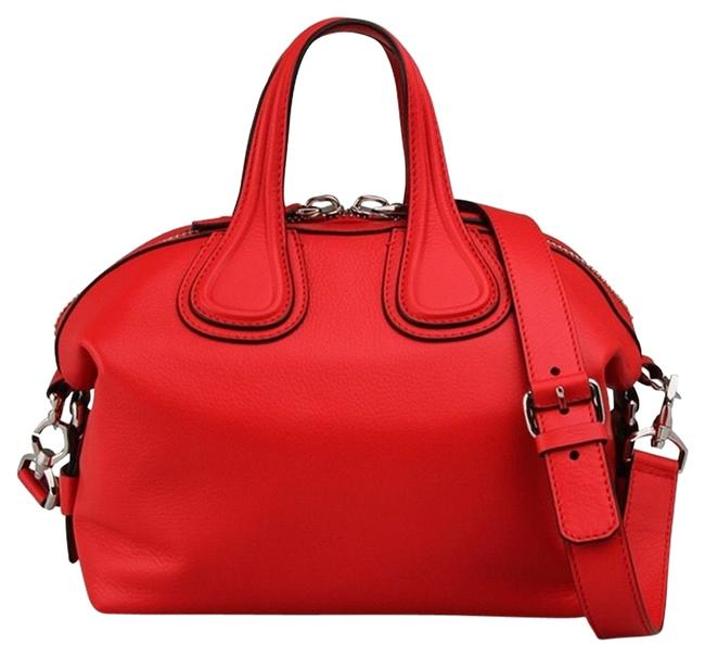 Item - New Nightingale Small Calf Red Leather Satchel