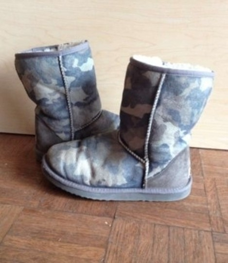 UGG Australia Uggs camouflage blue Boots