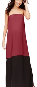 LOFT Maternity Colorblock Maternity Maxi Dress