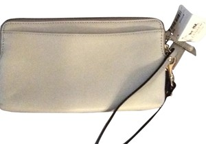 Coach Wristlet in Light Grey