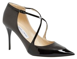 Jimmy Choo New With Out Box 439001809730 Sandals Size 41.5 Strappy Sandals Black Pumps