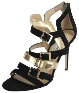 Jimmy Choo High Heels 439004270989 New With Defects Formal Buckles Black Pumps