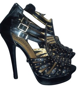 Lilliana Black Sandals