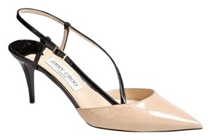 Jimmy Choo Sb-15453- New With Out Box Singback Size 41 Sandal Beige Pumps