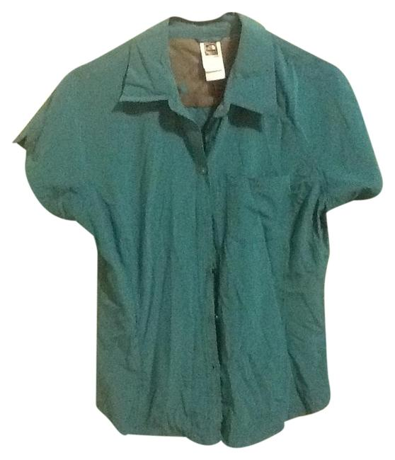 Preload https://item1.tradesy.com/images/the-north-face-turquoise-zippered-pocket-activewear-size-12-l-1341985-0-0.jpg?width=400&height=650