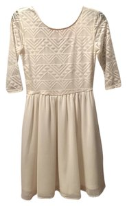 H&M short dress Cream on Tradesy