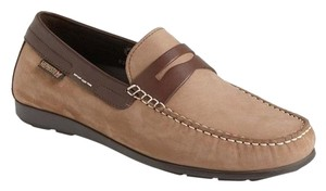 Mephisto Alyon Brown suede penny loafers size 9 US moccasins