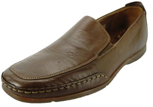 Mephisto Edlef brown leather apron Toe Loafers size 8.5 air-jet all day comfort