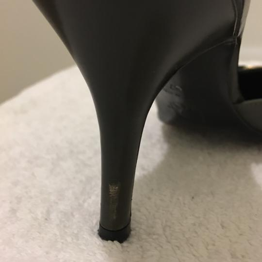 Dior Green and Black Mules Image 9