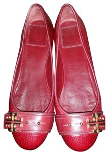Tory Burch Leather red Flats