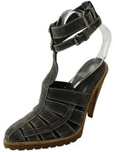 Alexander Wang Caged Ankle Strap Party Gray Boots