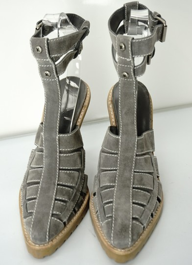 Alexander Wang Caged Ankle Strap Party Gray Boots Image 2