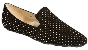 Jimmy Choo Size 37 Eu 429569919491 Studded New With Out Box Black Flats