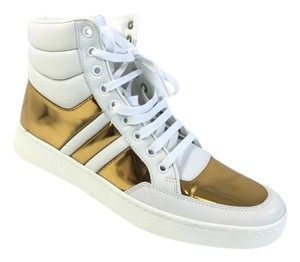Gucci White/Gold Athletic
