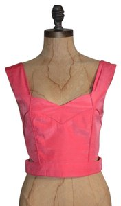 Keepsake the Label Crop Cut-out Top PINK