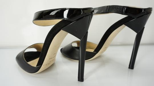 Jimmy Choo 448835678580 High Heel Strappy Black Pumps Image 5
