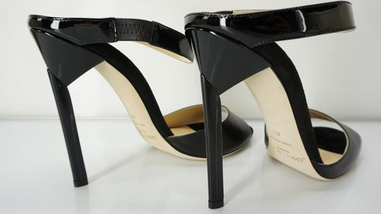 Jimmy Choo 448835678580 High Heel Strappy Black Pumps Image 6