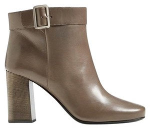 Prada Ankle Buckle Party Formal Gray Boots