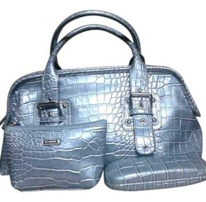 Rosetti Satchel in silver blue