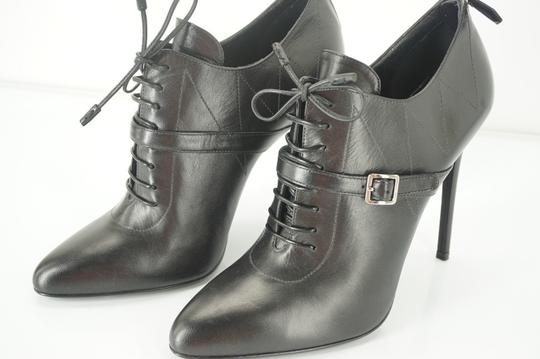 Prada Oxford Dressy Formal Classic Black Boots Image 3