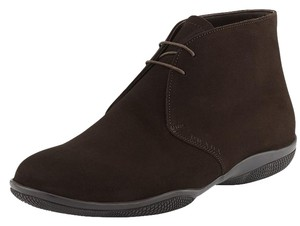 Prada Sport Brown Suede Lace-Up Chukka Boot Size 9 Men's Shoes high top $650