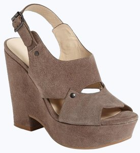 See by Chloé Chunky Dressy Party Gray Wedges
