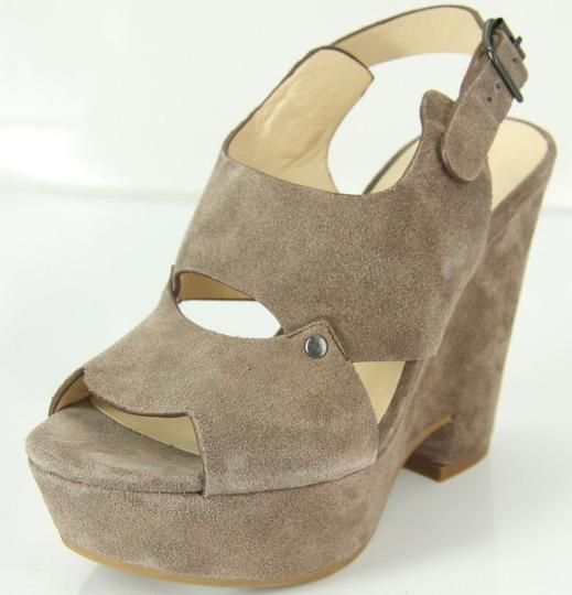 See by Chloé Chunky Dressy Party Gray Wedges Image 1