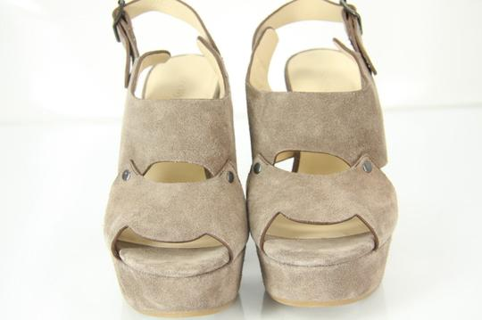 See by Chloé Chunky Dressy Party Gray Wedges Image 2