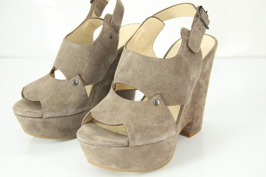 See by Chloé Chunky Dressy Party Gray Wedges Image 3