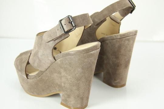 See by Chloé Chunky Dressy Party Gray Wedges Image 5