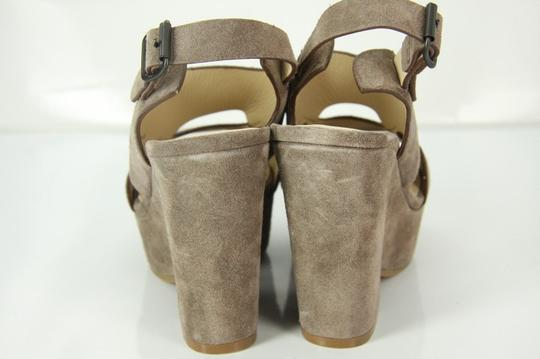 See by Chloé Chunky Dressy Party Gray Wedges Image 6