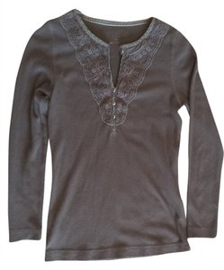 Eddie Bauer T Shirt Brown