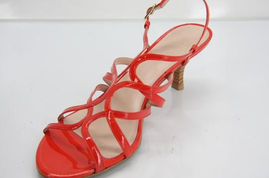 Stuart Weitzman Heels Party Fall Red Sandals Image 1
