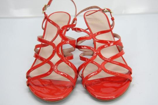 Stuart Weitzman Heels Party Fall Red Sandals Image 2