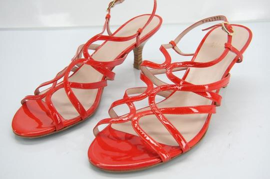 Stuart Weitzman Heels Party Fall Red Sandals Image 3
