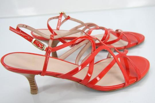 Stuart Weitzman Heels Party Fall Red Sandals Image 8