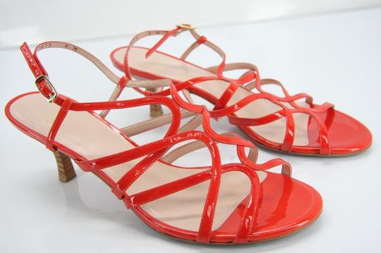 Stuart Weitzman Heels Party Fall Red Sandals Image 9
