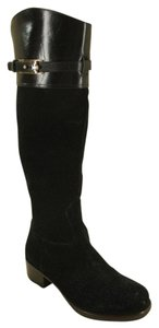Tory Burch Classic Formal Black Boots