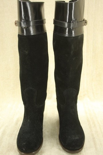 Tory Burch Classic Formal Black Boots Image 3