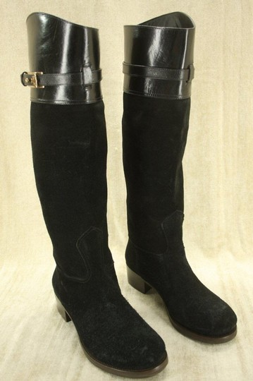 Tory Burch Classic Formal Black Boots Image 4