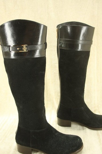 Tory Burch Classic Formal Black Boots Image 5