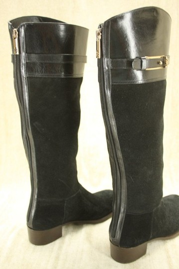 Tory Burch Classic Formal Black Boots Image 6