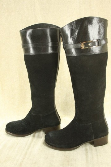 Tory Burch Classic Formal Black Boots Image 9